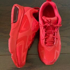 Dope all red air max 200